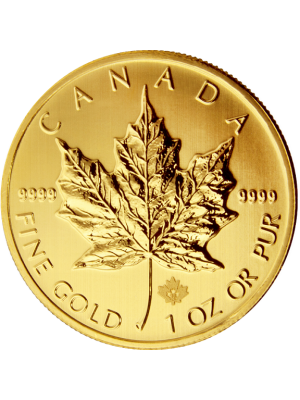 Gouden Maple Leaf 1 t/oz