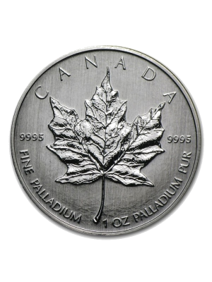 1 troy ounce Maple leaf Palladium