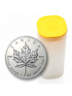 Zilveren Maple Leaf diverse jaartallen 1/oz