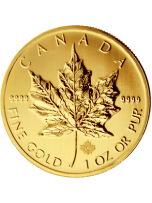Gouden Maple Leaf 1 troy ounce munt diverse jaartallen
