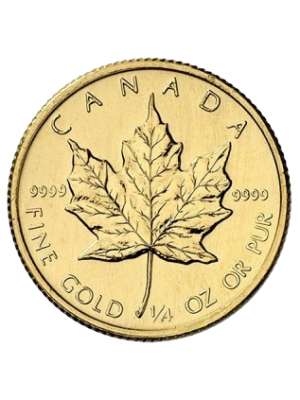 Gouden Maple Leaf 1/4 t/oz