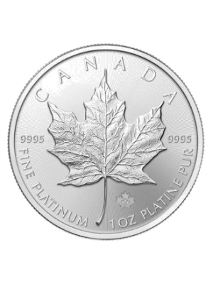 Platina Maple Leaf 1 t/oz
