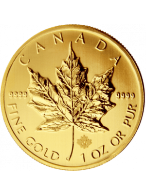 Gouden Maple Leaf 1 troy ounce munt 2018